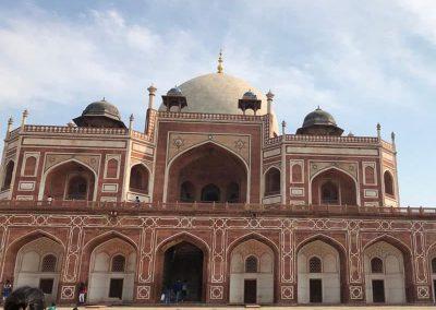Humayun Tomb visit during New Delhi MKH Tours