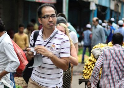 Farmers market visit at Old Delhi with masterji kee haveli tour