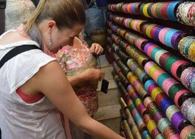 Shopping at Old Delhi