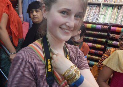 Spreading smiles at Old Delhi