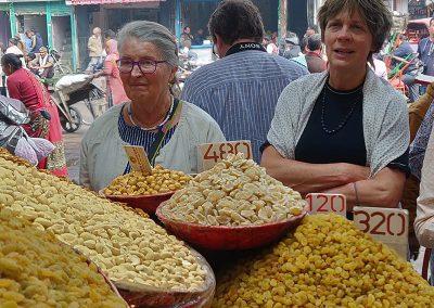 Dry Fruits Market at Old Delhi