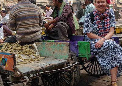 captured in the frame of Old Delhi by Dhruv