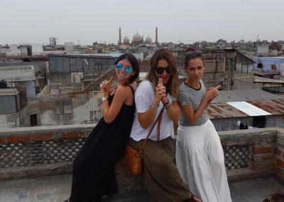 James Bond Girls at Old Delhi