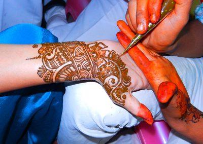 Henna Painting at Old Delhi