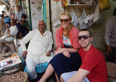 Friendly people of Old Delhi