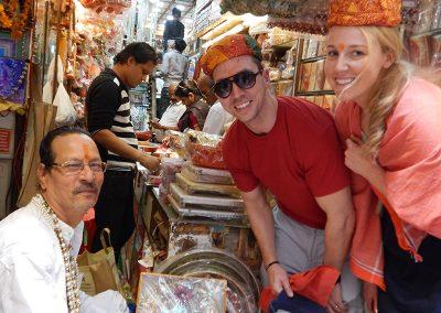 Kinari Bazar at Old Delhi