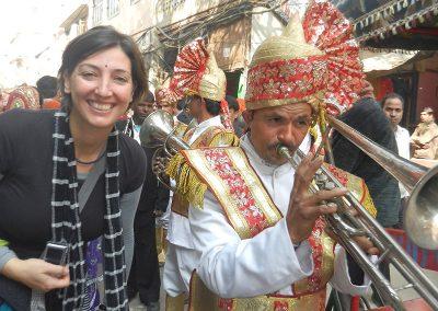 Wedding celebrations at Old Delhi