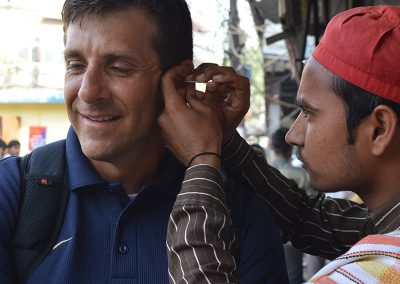 Ear Cleaning at Old Delhi