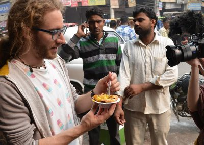 Food Tour Shoot with Old Delhi Walking Tours