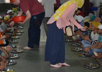 Community Service at Old Delhi