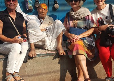 Feeling Blessed at Old Delhi