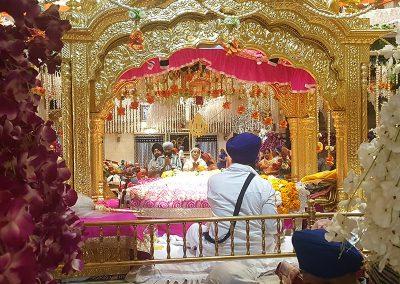 Sikh Temple- Shri Sees Ganj Gurudwara at Old Delhi