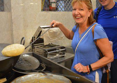 Cooking at Old Delhi