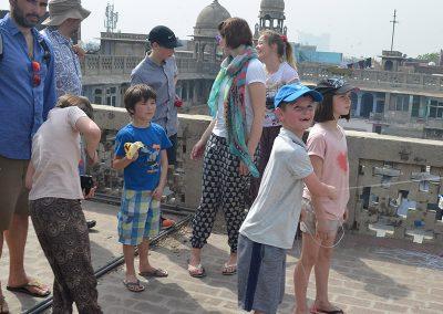 Kids & Kites at Old Delhi