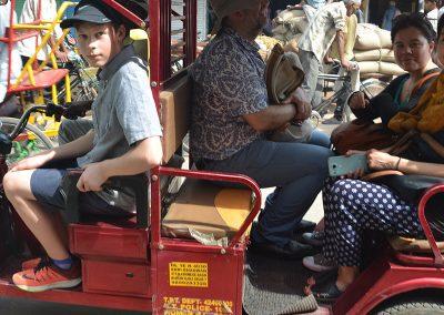 Family Ride at Old Delhi