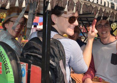 Smiles at Old Delhi