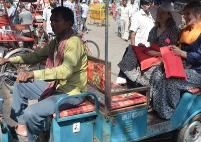 Adventure Ride at Old Delhi