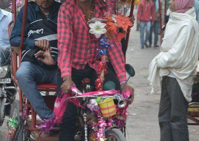 Fancy Rickshaw at Old Delhi
