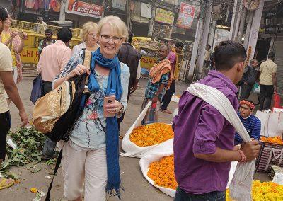 Flower Market Walk at Old Delhi